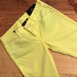 Armani Exchange Light Yellow J22 Legging